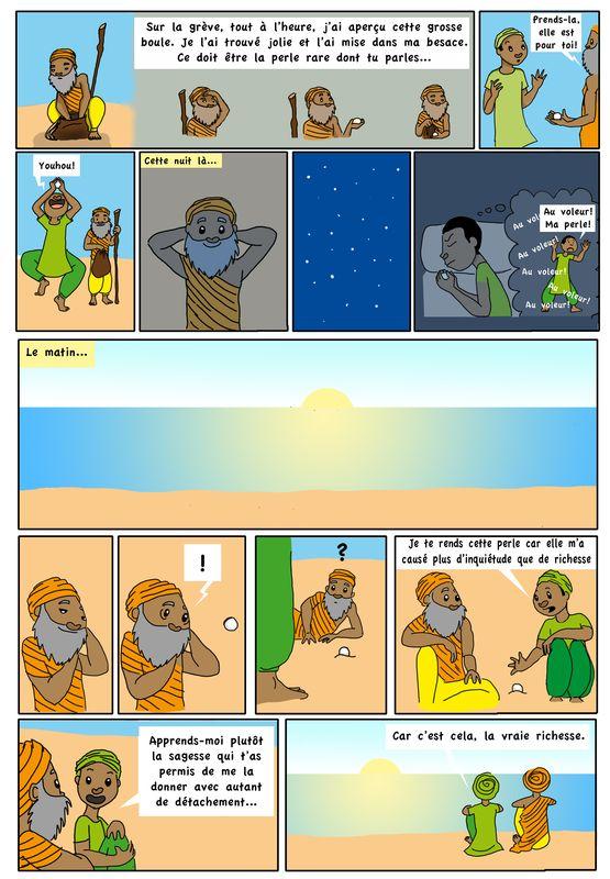 BD – Le sage et la perle