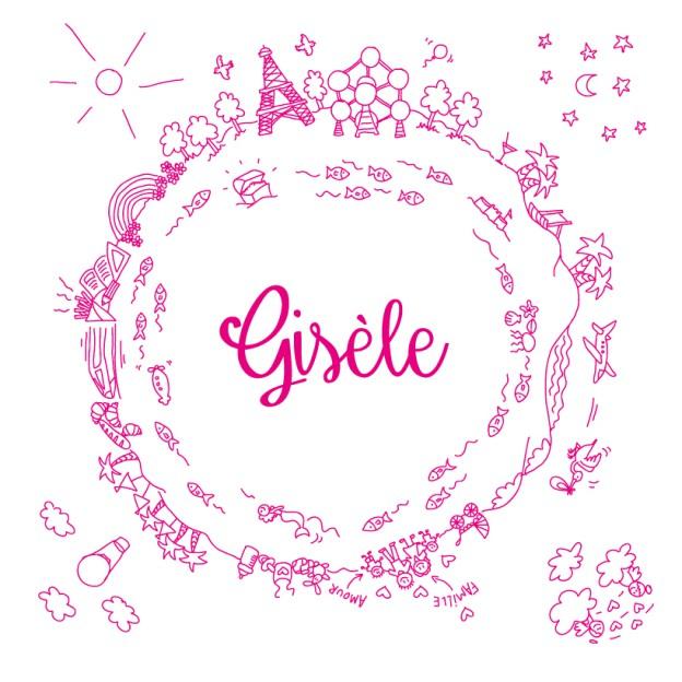 Faire-part de naissance – Gisèle