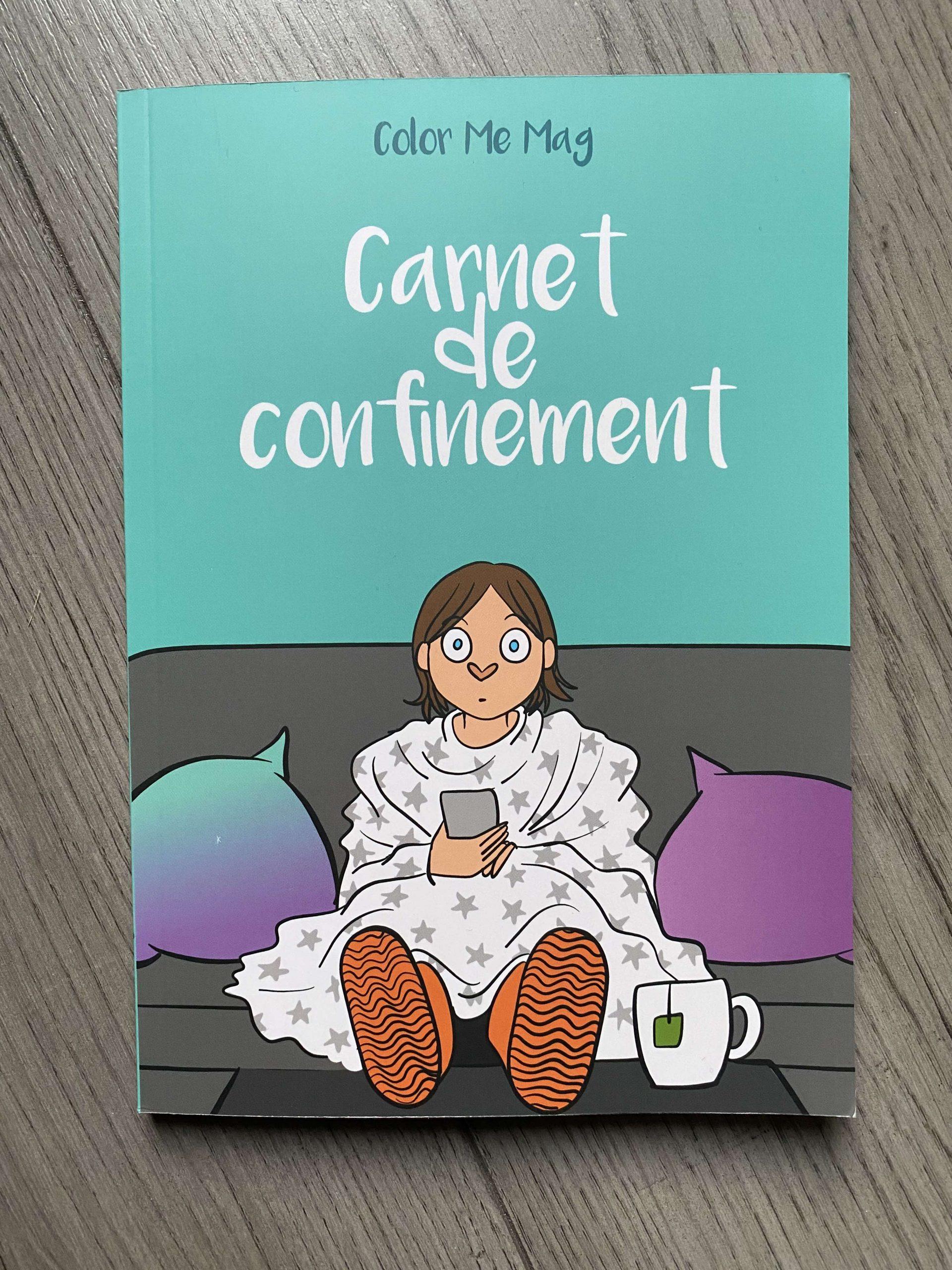 Carnet de confinement : le livre !